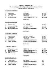 Sabato 15 settembre 2012 4° prova Campionato Valligiano Corsa ...