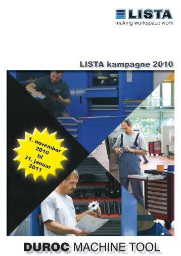 LISTA kampagne til januar 2011