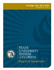Strategic Plan 2012-2025 - Sunshine State News