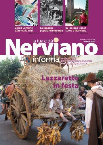 Anno III - Numero 3 Ottobre 2009 - Comune di Nerviano