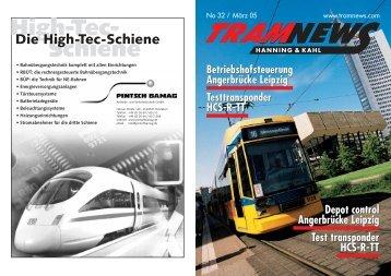 Die High-Tec-Schiene - Hanning & Kahl