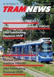 Vital-Interlocking Processor HVIP Weichenentrieb ... - Hanning & Kahl