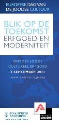 4 september 2011 - Jewish Heritage