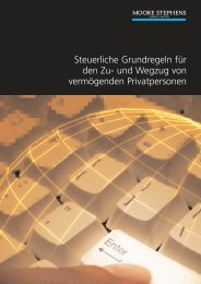 Steuerliche Grundregeln für den Zu - Zeppelin IT GmbH