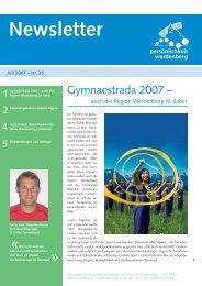 Juli 2007 - Region Werdenberg