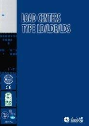 Load Centers Catalogue - Type LD/LDE/LDS - AEC Online