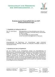 Projektskizze - (GFID) eV