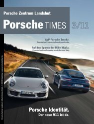 Porsche Identität. - Porsche Zentrum Landshut
