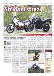 Test KTM 990 Adventure vs. Triumph Tiger 800 XC - Bikes.cz