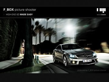 Facts F_BOX picture shooter - Mackevision