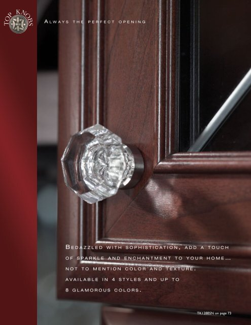 Crystal & Additions Collection - Top Knobs