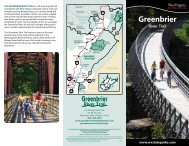 Greenbrier River Trail - West Virginia Department of Commerce
