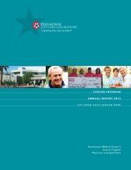 Cancer Program Annual Report - Eisenhower Medical Center