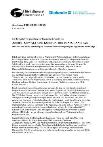 Presseerklärung - Aktion Bleiberecht