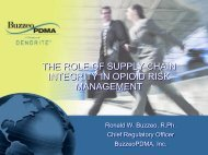 the role of supply chain integrity in opioid risk management