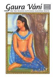 únor 2012 - Sri Sri Radha Govinda Mandir