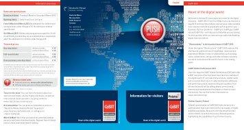 Heart of the digital world Information for visitors - LIKTA