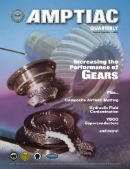 AMPTIAC Quarterly, Vol. 7, No. 1, Spring 2003 - Advanced Materials ...