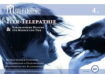 Tier-Telepathie Tier-Telepathie - Mystikum