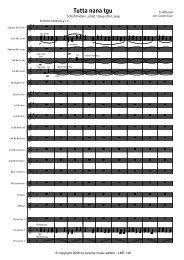 Finale 2006 - [Tutta nanna tgu - Score.MUS] - Lucerne Music Edition