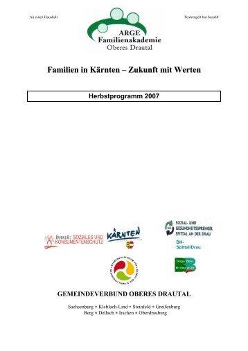 Familien in Kärnten – Zukunft mit Werten