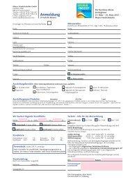 URLAUB FREIZEIT REISEN 2012 | Anmeldung