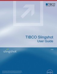 Slingshot 1.8 User Guide - TIBCO Product Documentation