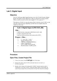 Lab 3 experiment sheet