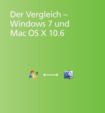 Der Vergleich – Windows 7 und Mac OS X 10.6 - C & E