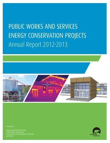 Energy Conservation Report 2012-13 - Department of Public Works ...