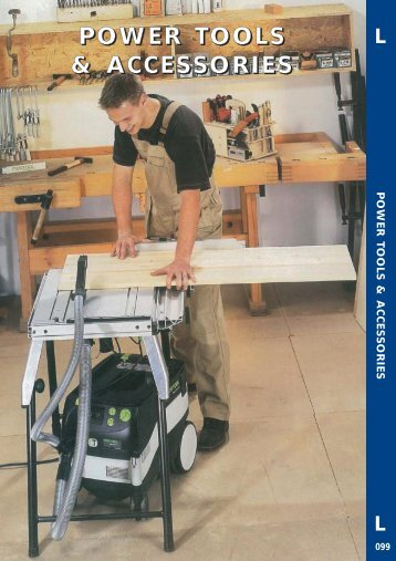Power Tools & Accessories 2009 Leaflet - toolequip.ie