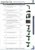 Power Tools & Accessories 2009 Leaflet - toolequip.ie - Page 3