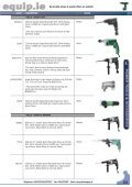 Power Tools & Accessories 2009 Leaflet - toolequip.ie - Page 5