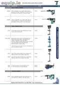 Power Tools & Accessories 2009 Leaflet - toolequip.ie - Page 7