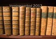 Vormingsbrochure 2012 - Heemkunde Vlaanderen