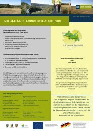 Neu_Poster_für_Regioforum-2012 10 26e - ILE | Region Lahn-Taunus