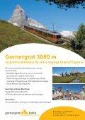 Gornergrat 3089 m Le point culminant de votre voyage Glacier ... - Page 2