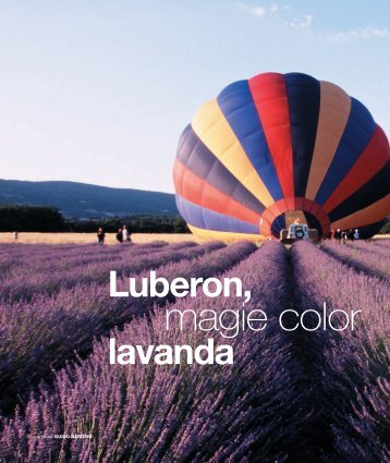 Luberon, magie color lavanda - Guido Barosio