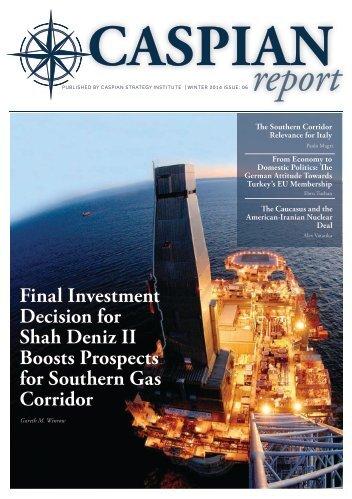 Caspian Report - Issue 06 - Winter 2014