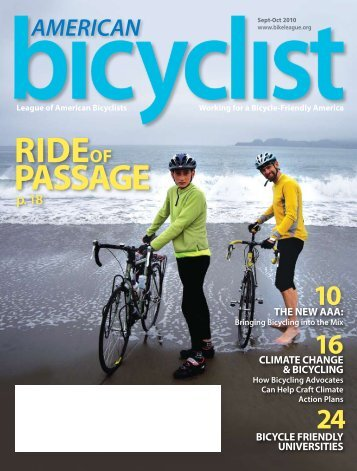 September/October 2010 - League of American Bicyclists