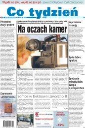 Bomba w Elektrowni Jaworzno III - ART-COM Sp. z oo