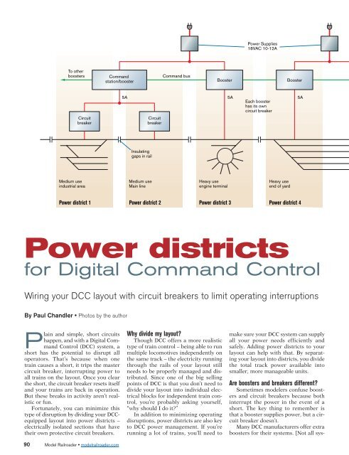 Power Districts for Digital Command Control - Tony's Train ... on