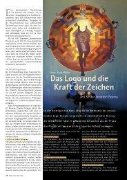 Das Logo und die Kraft der Zeichen - Hagia Chora Journal