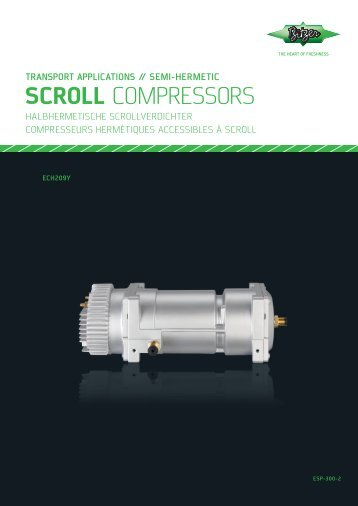 SCROLL COMPRESSORS - Holod-Proekt
