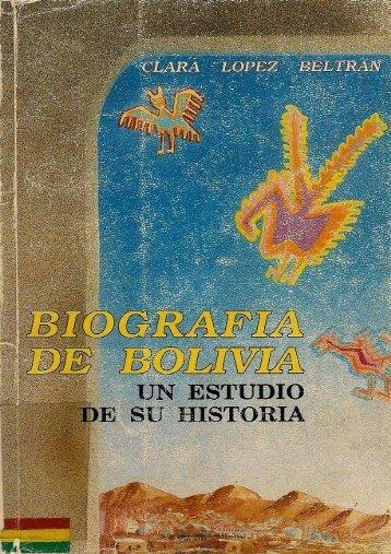Biografía de Bolivia