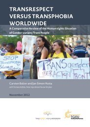 a comparative review of the human-rights situation of Gender-variant ...