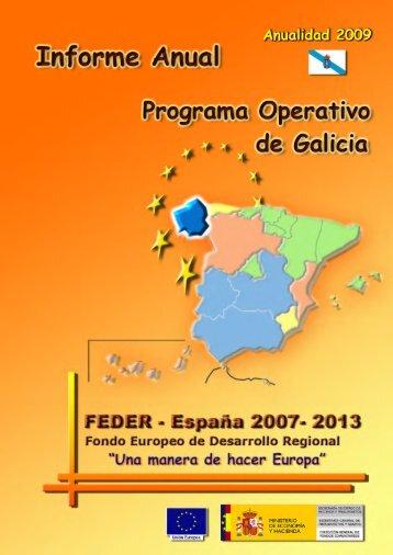 Año 2009 (pdf) - Dirección General de Fondos Comunitarios