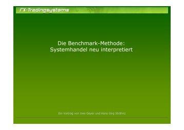 Die Benchmark-Methode: Systemhandel neu interpretiert (pdf)