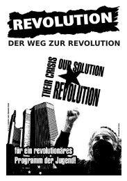 DER WEG ZUR REVOLUTION