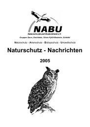 Naturschutz - NABU Daun eV